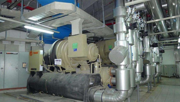 BIM技术在制冷机房施工中的应用