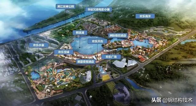 湘江欢乐城冰雪世界效果及建造_2