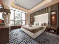 现代简约风住宅卧室设计3D模型(附效果图)