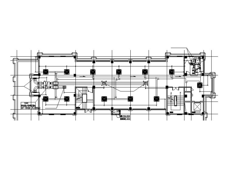 浙江小高层办公楼暖通设计施工图