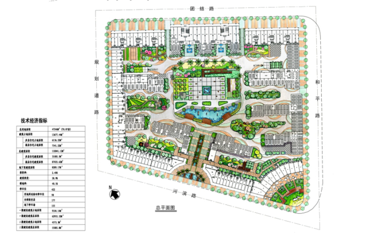 [福建]滨水趣味性居住区景观规划设计