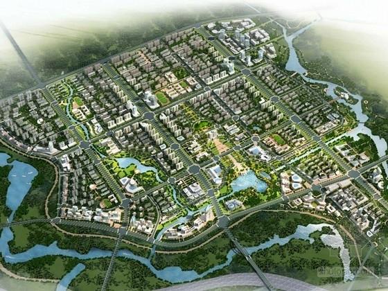 [安徽]现代风格大型城市片区概念性规划设计方案文本