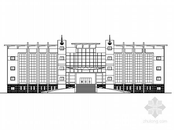 [毕业设计]青岛某四层教学楼建筑施工图(含计算书)