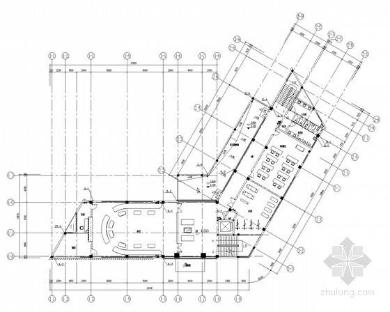 [广东]多层办公楼给排水消防施工图(喷淋系统)