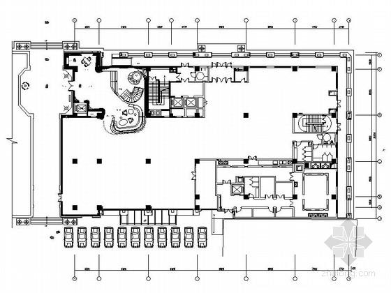 [天津]皇家游艇豪华会所室内装修施工图(含效果)
