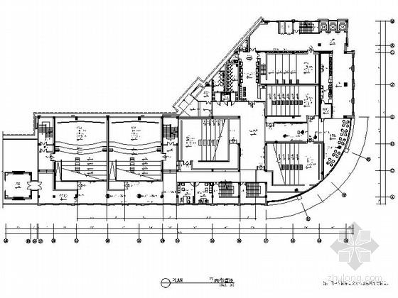 [福建]现代娱乐电影国际影城室内装修施工图(含高清效果图)