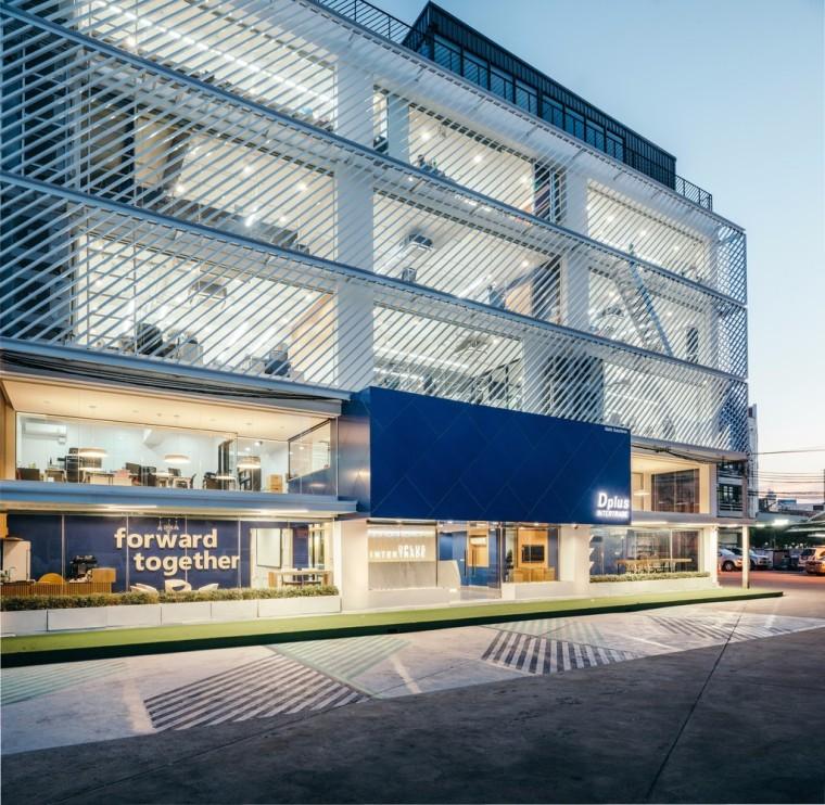 Dplus Intertrade 总部办公室 / Pure Architect