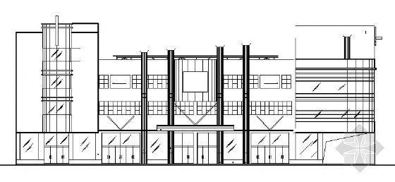某文化商城建筑施工图