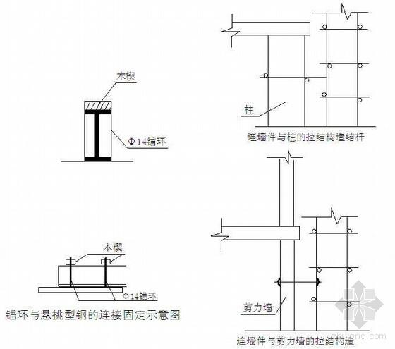 重庆某综合脚手架搭设拆除施工技术交底