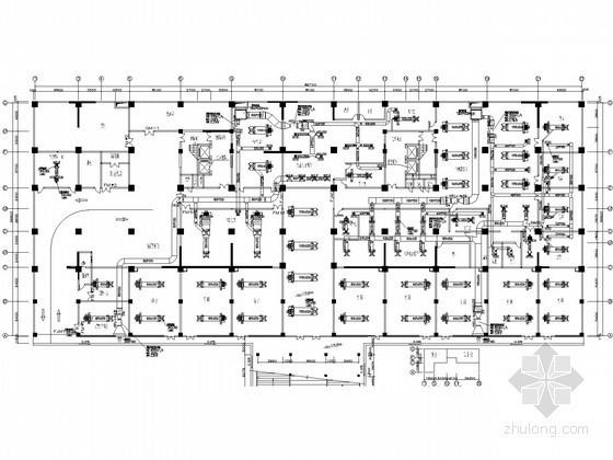 酒店空调vrv资料下载-[云南]酒店通风空调系统设计平面图