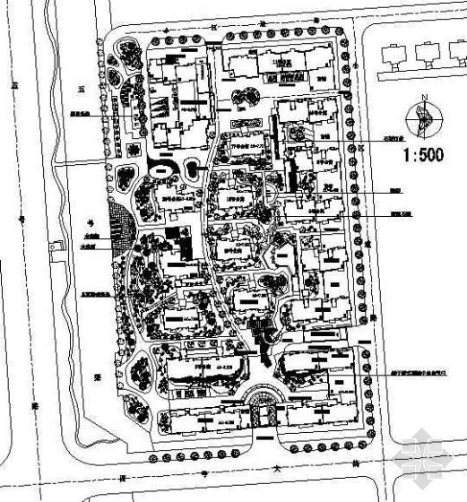 杭州住宅小区景观设计方案