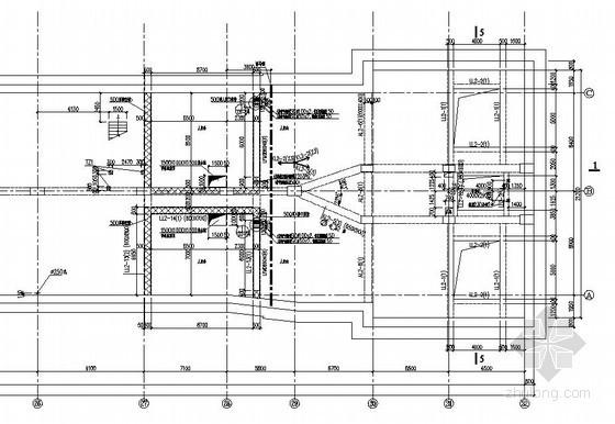 [苏州]地铁车站站房结构施工图(复合墙结构知名设计院)