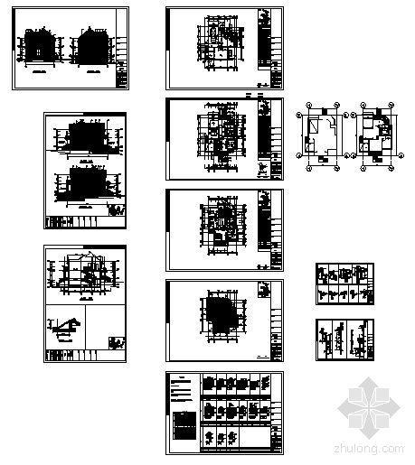 丹堤C区1号楼建筑施工图-3