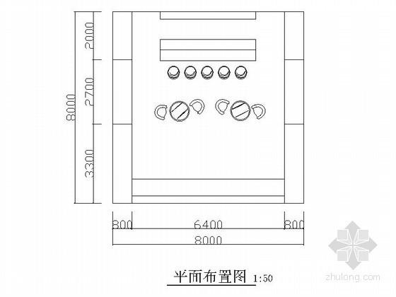 64平方电子展示厅室内设计图(含效果)
