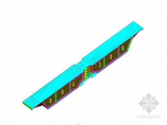 彩针型独塔斜拉桥160m长钢箱梁加工方案
