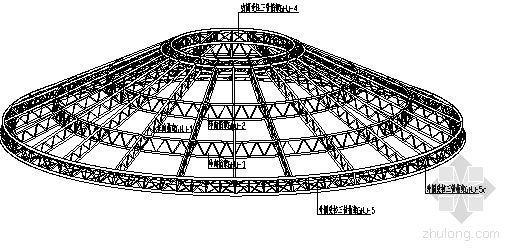 内蒙古某会展中心屋顶钢桁架安装方案