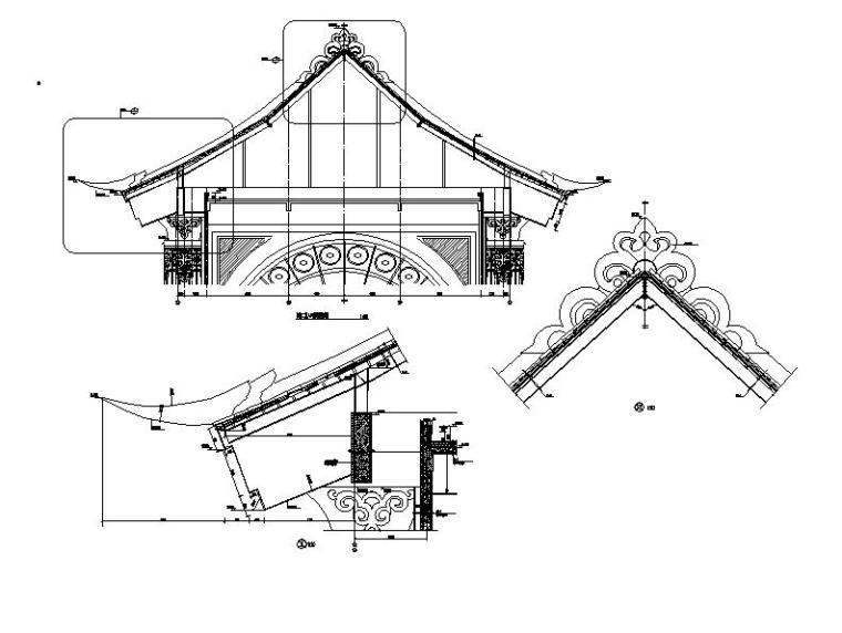 [内蒙古]四层新古典风格多功能文化中心建筑施工图(16年最新)_12