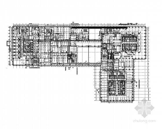 [山东]商务区国际五星级酒店给排水施工图(54层)