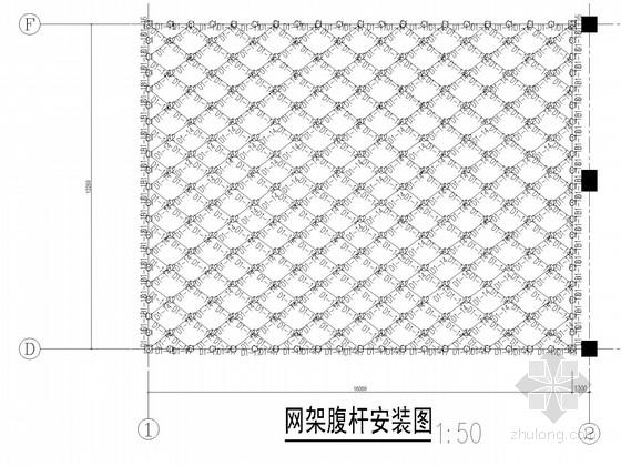 6度区汽车销售服务店钢结构施工图