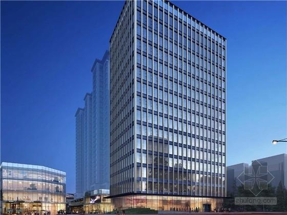 [福建]现代高层SOHO办公综合楼建筑设计方案扩初