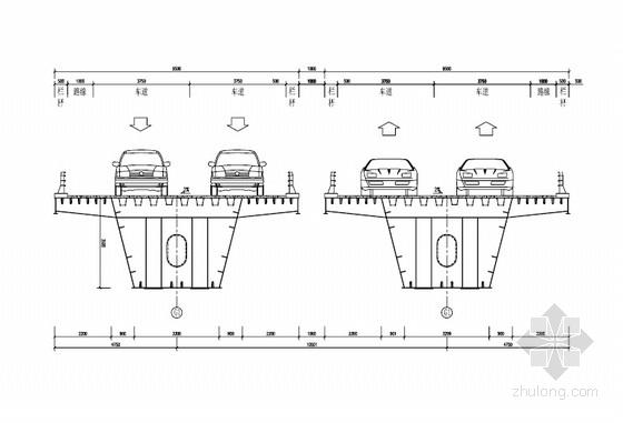 [毕业设计]主跨90米连续钢箱梁桥上部结构施工图(75页 附计算书)
