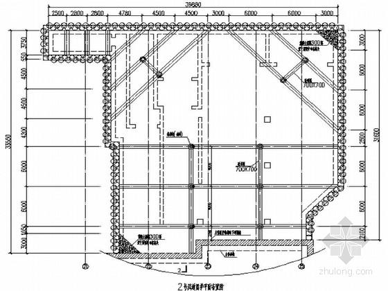 [湖南]地铁车站附属工程围护与风亭结构施工设计图纸