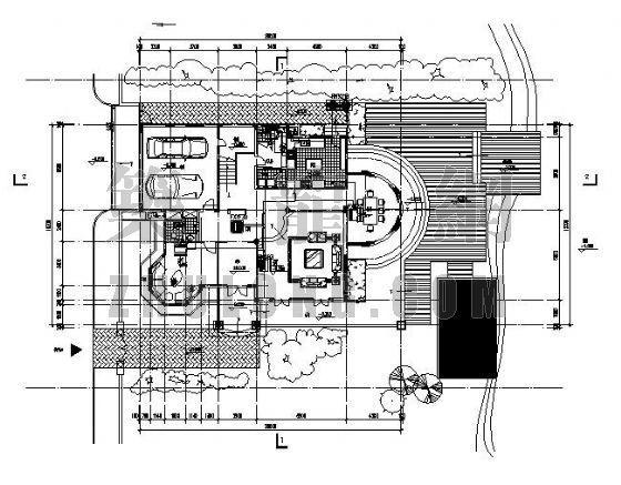 惠州御龍山某別墅區VRV空調設計圖
