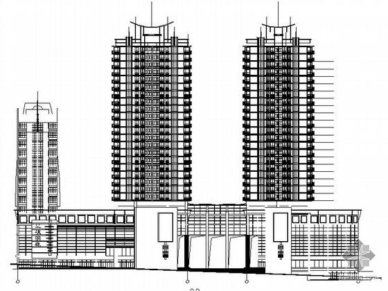 某二十六层商住楼建筑施工图