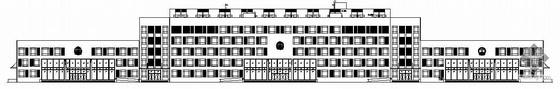[松山湖]某交通局办公楼建筑结构水电空施工图(带节能设计)
