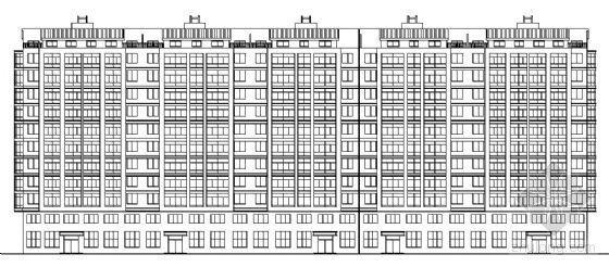 某十一层住宅楼建筑设计施工图