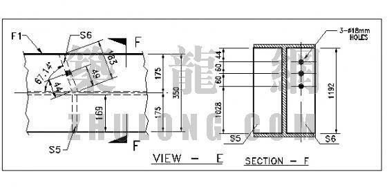 [英文]钢结构设计细部图纸