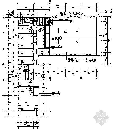 万洲公安局建筑施工图-3
