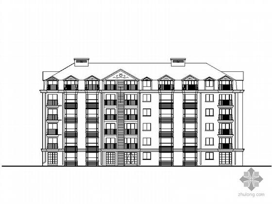[北京]某六层板式住宅楼建筑施工图