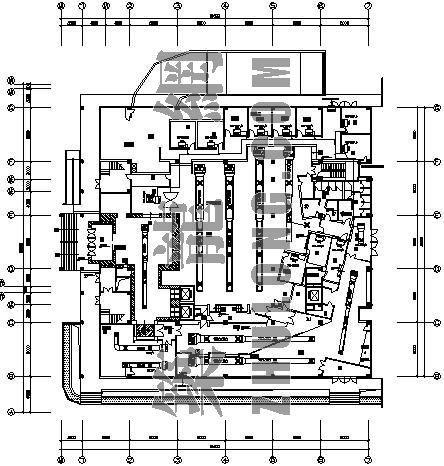 VRV空调设计图资料下载-某夜总会VRV空调设计图