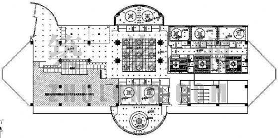 某饭店平面图设计方案
