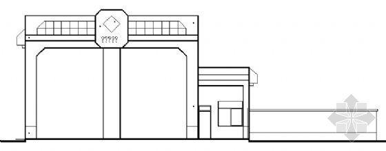 某垃圾转运场建筑方案图
