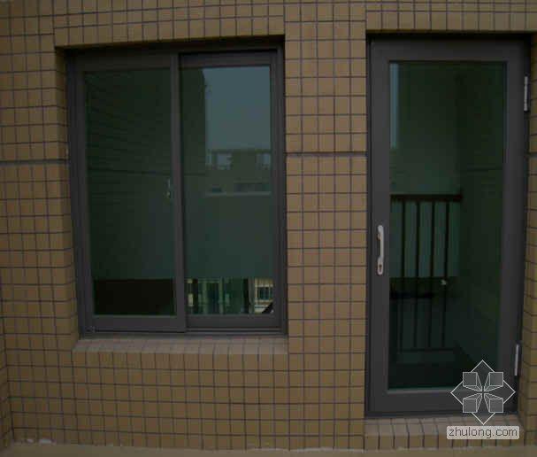 铝合金门窗渗漏预防措施