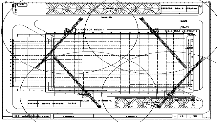 甘肃文化艺术中心场馆钢桁架专项施工方案(四层钢框架支撑+钢砼框剪结构)