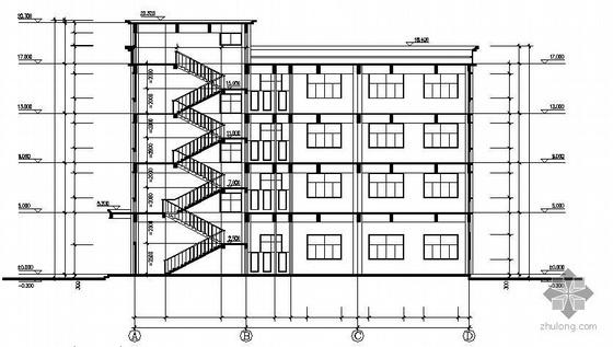 某厂房建筑结构全套设计图纸