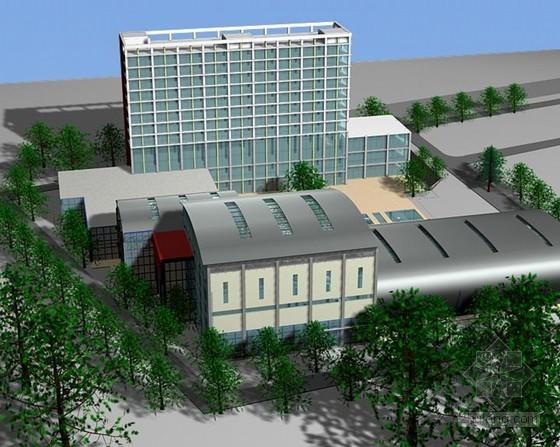 [北京]框架结构高层综合楼施工组织设计(大空间网架屋面、654页、附图丰富)