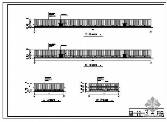 重庆某钢结构有限公司厂房建筑结构图