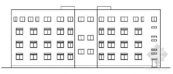 某四层办公楼毕业设计图