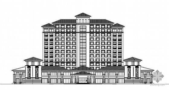 东莞市某十三层酒店施工图