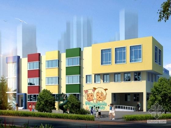 [青岛]某三层幼儿园概念方案