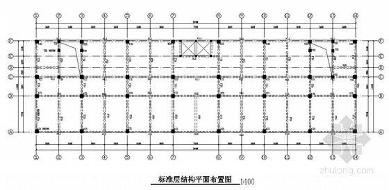 [学士]六层框架结构办公楼毕业设计(含计算书、结构图、施组)