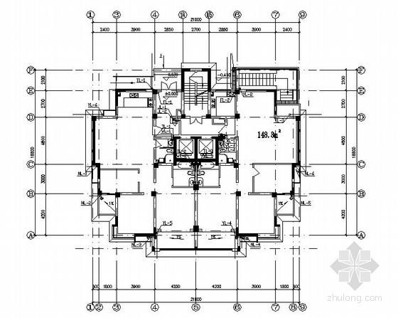 某15层普通住宅楼给排水施工图