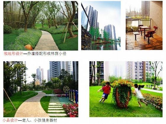 某地产公司示范区景观设计研究