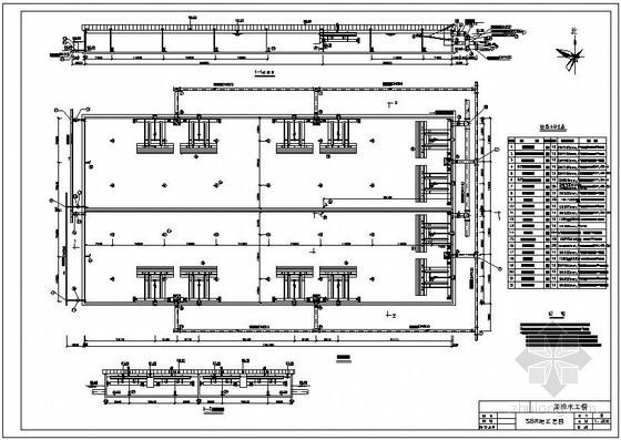 SBR、沉砂池工艺图