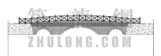 木桥平立面图纸-2