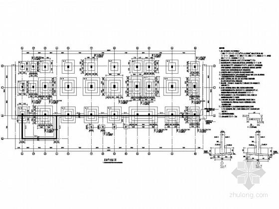 [湖南]七层框架结构宿舍楼结构施工图(含底部与顶部架空层)
